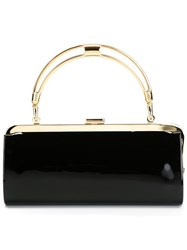 Balmain Structured Clutch Black