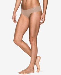 Under Armour Pure Stretch Sheer Hipster Underwear Nude