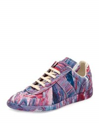 Maison Martin Margiela Replica Low Top Tie Dye Rubber Sneaker Multi