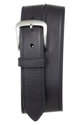 Men's Shinola Double Stitch Leather Belt