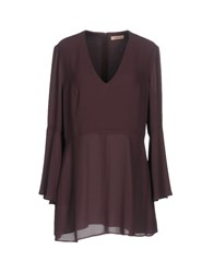 Maesta Blouses Deep Purple
