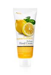 Forever 21 Romantic Lemon Perfume Hand Cream White