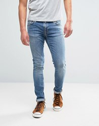 Nudie Jeans Co Skinny Lin Jean Pure Breeze Wash Pure Breeze Blue