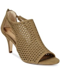 Styleandco. Style And Co. Haddiee Ankle Booties Only At Macy's Women's Shoes Sage Green