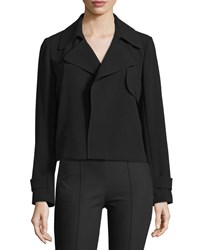 Theory Menefer Admiral Crepe Blazer Men's Size Large Black
