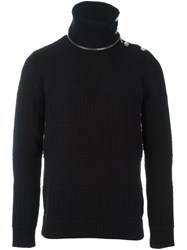 Givenchy Zip Detail Jumper Black