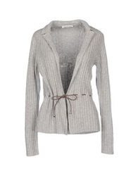 Della Ciana Cardigans Light Grey