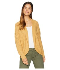 Roxy Let's Go Anywhere Cardigan Curry Sweater Multi