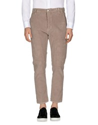Aglini Casual Pants Dove Grey