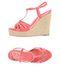 Christian Dior Dior Sandals Coral