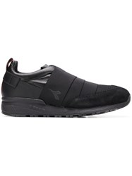 Diadora Strapped Low Top Sneakers Black