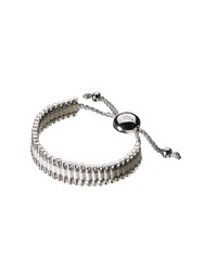 Links Of London Pewter And White Friendship Bracelet