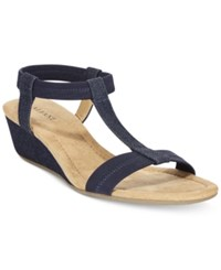 Alfani Women's Voyage Wedge Sandals Only At Macy's Women's Shoes Denim
