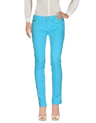 Ean 13 Casual Pants Turquoise
