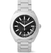 Gucci Gg2570 41Mm Stainless Steel Watch Black