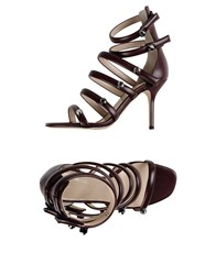 Christopher Kane Sandals Cocoa