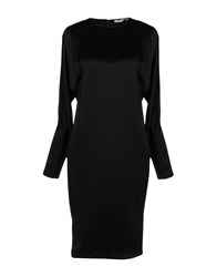 Hakaan Knee Length Dresses Black