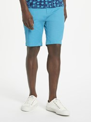 John Lewis Kin By Stretch Cotton Chino Shorts Turquoise