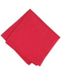 Bar Iii Men's Rudolph Solid Pocket Square Created For Macy's Red