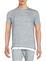 Eleven Paris Rainier Crewneck Tee Trouble Grey
