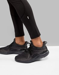 Adidas Running Alphabounce Sneakers In Black Db1090 Black
