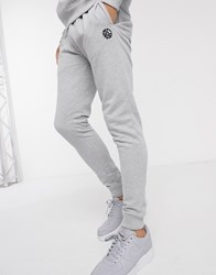 Soul Star Mix And Match Slim Fit Jogger In Grey
