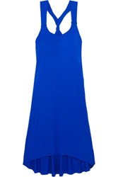 Heidi Klein Lisbon Twist Back Jersey Dress Bright Blue