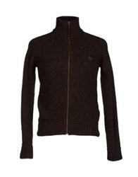 Cycle Cardigans Dark Brown