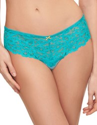 B.Tempt'd Bare Floral Lace Hipster Wild Aster