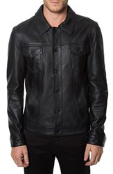 Men's 7 Diamonds 'Desperado' Leather Western Jacket