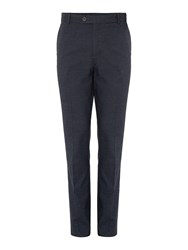 Linea Warwick Brushed Puppytooth Trouser Charcoal