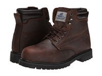 Skechers Foreman Arvin Chocolate Dark Brown Men's Work Lace Up Boots