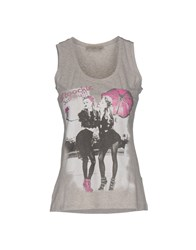Just For You Tank Tops Light Grey