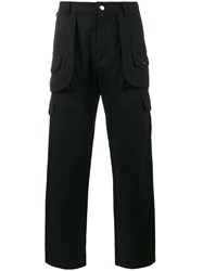 White Mountaineering Hunting Cargo Pants Cotton Black