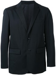 En Route Flap Pockets Blazer Black
