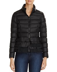 T Tahari Zoey Lightweight Down Jacket Black