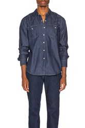 Levi's Premium Barstow Western Shirt Red Cast Rinse