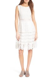 Cupcakes And Cashmere Women's Cucpakes Summers Sheath Dress Ivory