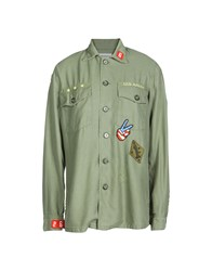 Etienne Marcel Shirts Military Green