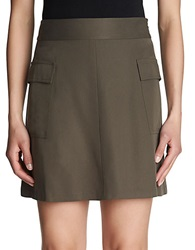 1 State Cargo Mini Skirt Dark Grove