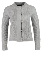 Gant Honey Cardigan Grey Silver