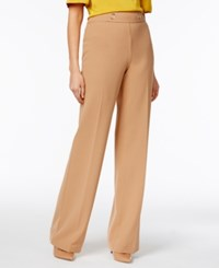 Inc International Concepts Petite Grommet Wide Leg Pants Only At Macy's Spicy Peanut