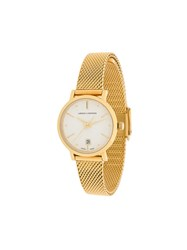 Larsson And Jennings Lugano Aurora Gold Milanese 26Mm Watch