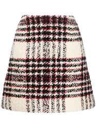 Tory Burch Checked A Line Skirt 60