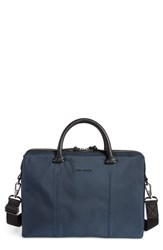 Ted Baker 'S London Document Bag Blue Navy