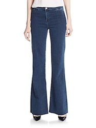 J Brand Tailored Flared Jeans Allegiance