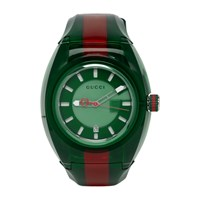 Gucci Green And Red G Sync Watch