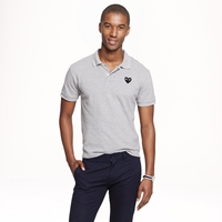 J.Crew Play Comme Des Garcons Polo In Grey