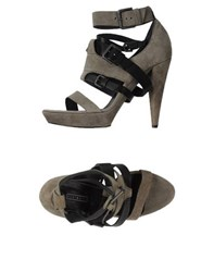 Vic Matie Vic Matie' Footwear Sandals Women Grey