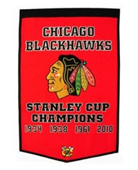 Winning Streak Chicago Blackhawks Dynasty Banner Team Color